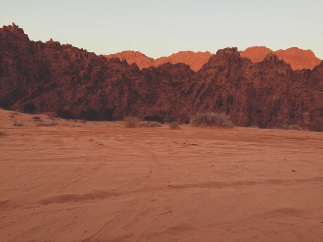 Desert in Hail city