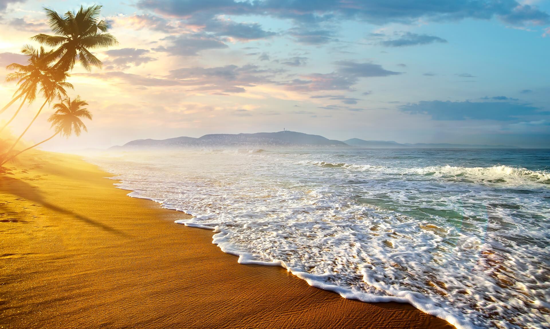 Ocean in Sri Lanka