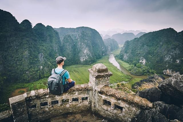 Traveler in Vietnam